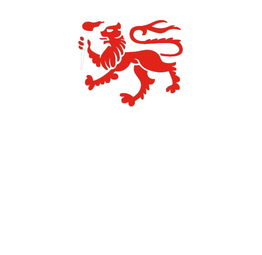 University of Tasmania logo with lion